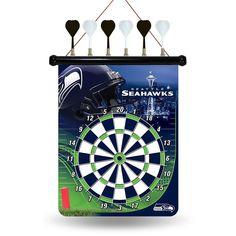 Seattle Seahawks NFL Magnetic Dart Board