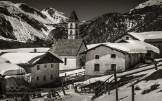 Popular on 500px : Val Müstair: The Villages  Lü 1 (2) Elevation 1920 m (6300 ft) Population 63 by SwissFiveNine