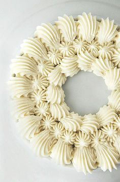 Classic Vanilla Buttercream Frosting Recipe ~ If you're looking for a classic vanilla buttercream recipe, look no further... the frosting can be easily tinted with food paste gel or food coloring. great for your holiday baking!
