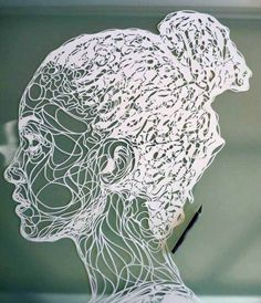 Paper Art Sculpting by Kris Trappeniers — a stencil artist based in Belgium