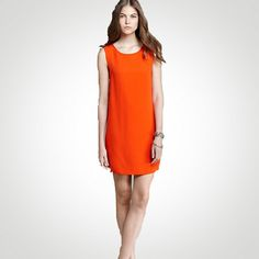 Joie Giunia Shift Dress in Spicy Orange  WAS $398 - NOW $119  Find Joie clothing in Beverly Hills at Jami Lyn on Robertson.