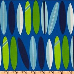 Fabric for surf room