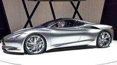 Stunning 2012 Infiniti Emerg-E Concept