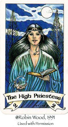 high priestess tarot images - Google Search