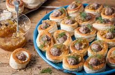 Colin McGurran's sausage and marmalade vol-au-vents