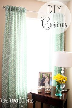 How to Make Curtains-Totally gonna try it!