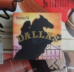 Benefit Dallas Blush - A matte mauve/plum/bronze blush that's great for Summer, and transitions perfectly into the Fall