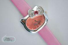 Hello Kitty Reloj Rosa Carita con Moño $529.00