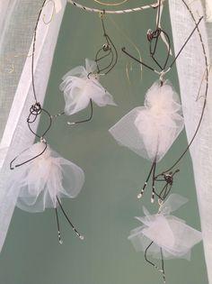 Ballerinas fil di ferro wireart