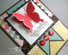 Lynn Put - PTI Beautiful Butterflies & MME paper