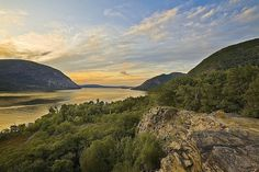 The Hudson Highlands, Cold Spring, NY by Christopher Wisker