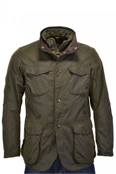 Barbour Ogston Jacket Available To Purchase At Michael Stewart Menswear. Winter Walk, Long Winter, Wax Jackets, Gentleman Style, Tartan, Military Jacket, Raincoat, Men Casual, Menswear