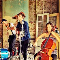 The Monday jam session is on and we're listening to The Lumineers this afternoon. A great, Denver-based group!
