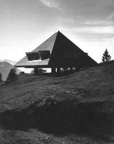 Tent House (1954)  Rigi, Swiss Alps Justus Dahinden