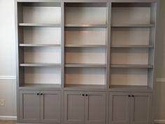 Custom Bookcases!