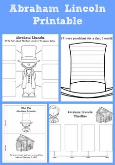 Native American history abraham lincoln for kids f… Abraham Lincoln Costume, Abraham Lincoln Facts, Abraham Lincoln For Kids, Abraham Lincoln Birthday, Abraham Lincoln Books, Lincoln Quotes, Book Activities, Kindergarten Activities, Preschool Lessons