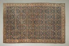 Ancien TABRIZ (Nord Ouest de la Perse), décor Hérati sur fond marine (petites…