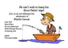Fishing - Just for Men Party Birthday Invitations and Bachelor Party Invitations, . Fishing – Just for Men Party Birthday Invitations and Bachelor Party Invitations , Fishing – Ju Birthday Messages For Son, Birthday Gifts For Sister, Birthday Quotes, First Birthday Parties, Birthday Party Themes, Bachelor Party Invitations, Retirement Party Invitations, Free Birthday Invitations, Retirement Party Decorations