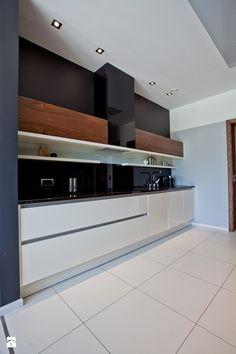 kuchnia w domu jednorodzinnym - zdjęcie od A2 STUDIO pracownia architektury - Kuchnia - Styl Nowoczesny - A2 STUDIO pracownia architektury
