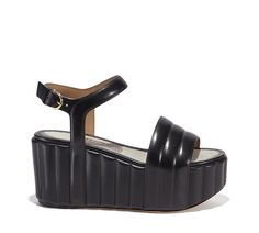 Platform Wedge Sandal - Shoes - Women - Salvatore Ferragamo