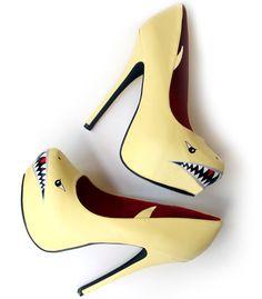 Shark heels!!