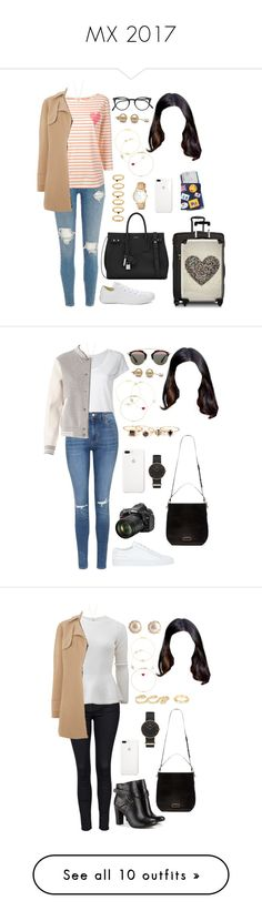 """""""MX 2017"""" by ittgirl ❤ liked on Polyvore featuring Chinti and Parker, Vince Camuto, Converse, Yves Saint Laurent, Tumi, IKASE, Oliver Peoples, Jennifer Meyer Jewelry, Alison Lou and Ileana Makri"""