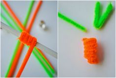 Basteln mit Pfeifenreinigern zu Ostern - 20 kreative Bastelideen für Kinder
