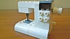 Mini sewing machine from Legos! So adorable!