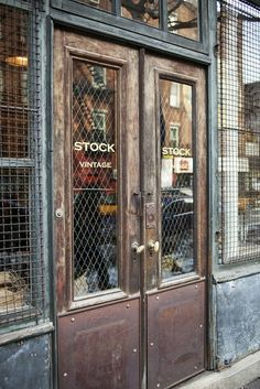 When I see old doors like this, in an old store front, I just go BANANAS!!!! Love it so much. I want to have consensual sex with this store front. But of course, it can't be consensual since a store front cannot talk. But I digress....Biddy Craft