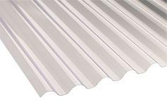 Translucent Pvc Roofing Sheet 1 8m X 660mm Departments Diy At B Q
