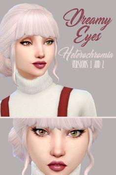 The sims 4 cc dangerouslyfreejellyfish dreamy eyes heterochromia versions 1 Sims 4 Cc Eyes, Sims 4 Mm Cc, Sims 4 Cc Skin, Maxis, Sims 4 Teen, Sims 4 Toddler, Los Sims 4 Mods, Sims Packs, The Sims 4 Cabelos