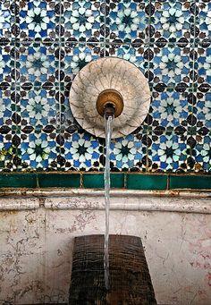 Fountain detail, Sintra, Portugal