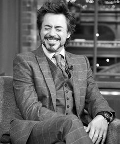 robert downey jr. - he has completely turned his life around for the better. and rejuvinated his career
