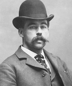 America's First Serial Killer Built A Murder Castle In The Middle Of Chicago This man was born Herman Webster Mudgett, but he was best known as H.H. Holmes, one of the first documented serial killers in America. While he confessed to the murders of 27 people, it is estimated the body count is closer to 200. His most famous ploy was the World's Fair Hotel, a hotel he owned and designed to be a labyrinth of murder.