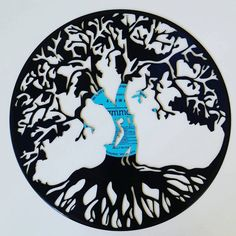Tree of Life  Vinyl Record Art by mybrokenrecord on Etsy