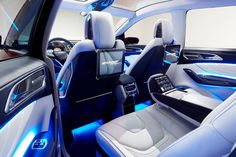 2017 Ford Edge seats