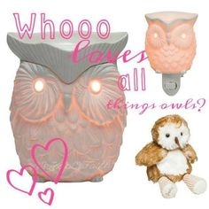 Whooooo loves owls?? Scentsy loves owls! Get yours! www.dixieharpell.scentsy.ca