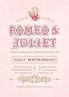 Romeo And Juliet Invitation To Capulet Party Futureclim Info