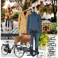 Autumn in New York, created by ffpava on Polyvore