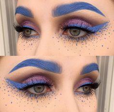Wonderland   grey eyebrows and liner