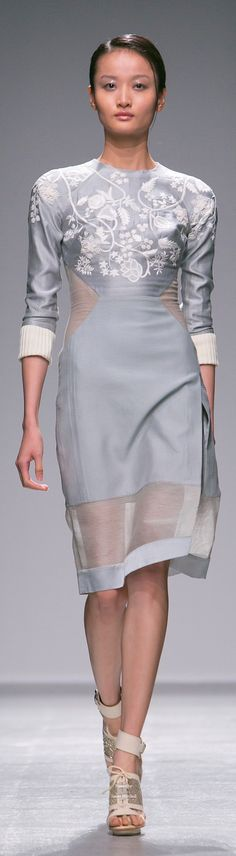Farb- und Stilberatung mit www.farben-reich.com # Rahul Mishra Spring Summer 2015 Ready-To-Wear collection