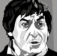 2nd Doctor - made on bamboo graphics tablet