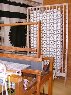 Converting a Loom to a Continuous Warp System April 2013
