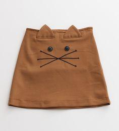 DIY cat mini skirt idea