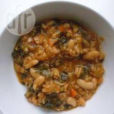 Weiße Bohnensuppe vegan @ de.allrecipes.com