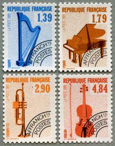 République Française -France Stamps 1989