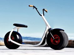 A Harley Davidson for the sidewalk. We love the forward thinking approach Scrooser is taking towards the challenge of future urban mobility. http://www.lifestylefancy.com/scrooser-urban-mobility-solution/