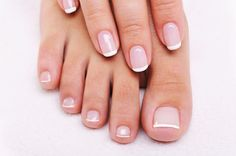 How to: French Manicure and Pedicure | Sesora Online