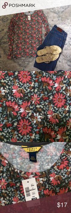 NWT Aeropostale Long Sleeve Floral Top NEW WITH TAGS! Prince & Fox Aero brand Aeropostale Tops Tees - Long Sleeve