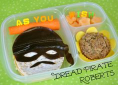 BentOnBetterLunches: Talk Like A Pirate Day... As You Wish